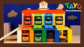 Learn Colors with Tayo Lego Play l Heavy Vehicles Lego Play l Tayo the Little Bus