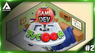 Game Dev Tycoon - Starting Our Multi Million Pound Company In Our Garage - Gaming Engine Build #2