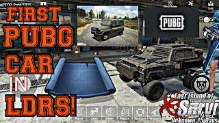 I BUILT THE FIRST PUBG VEHICLE IN LDRS! - Last Day Rules Survival | Last Island Of Survival