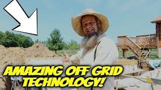 OFF GRID ROOT CELLAR BUILD ~ AMAZING TECHNOLOGY