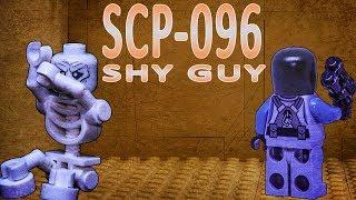 LEGO SCP 096: Shy Guy horror stop motion