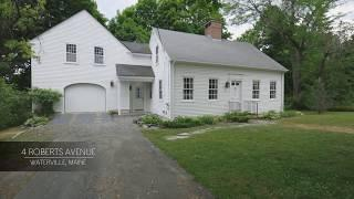 FOR SALE IN MAINE - 4 Roberts Avenue, Waterville