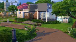 Speed Build #3 Secret Bomb Shelter Home - Luxury and Safety in a Modern Family Home!