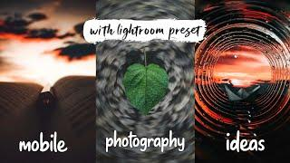 5 Easy mobile photography ideas for instagram | creative mobile photography tips | part 2