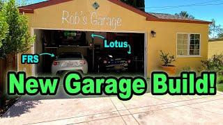 Car Lovers Ultimate New Garage Build - Overview and Specs