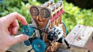 TOYOTA Mini Engine Build - Stop Motion Engine Assembly