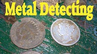 METAL DETECTING OLD PARK WITH THE SIMPLEX !