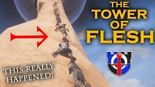 The tower of FLESH! Yes, this really happened! CONAN EXILES SHENANIGANS