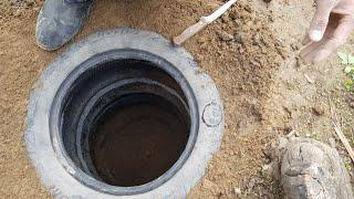 budget septic tank for a summer residence.