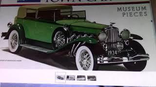 Two Classic Car Kits For Sale  U.S.  Only Sorry