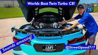 We Finally Finished @Street Speed 717's Twin Turbo C8!!! This Thing Is Absolutely Ridiculous!!!