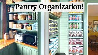 Small Pantry Organization (in a Victorian Kitchen!)
