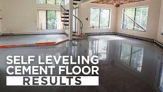 Results of self leveling cement floor in our NSB Lincoln renovation