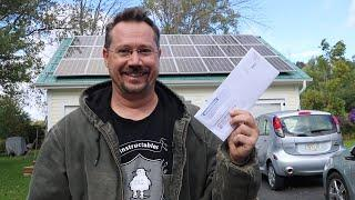 BEST ELECTRIC BILL EVER! Solar Grid-Tie/Time-of-Use/August 2020