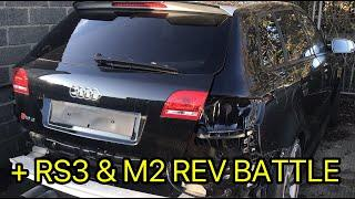 Garage Update!! Plus RS3 and M2 rev battle!!