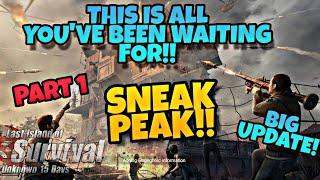 IT'S COMING SOON! THIS IS IT! BIG UPDATE! - Part 1 Last Day Rules Survival Last Island Of Survival