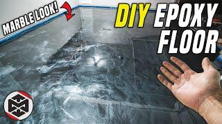Installed EPIC DIY Metallic Epoxy Floor! How To