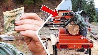 How to PRINT MONEY with a Small SAWMILL