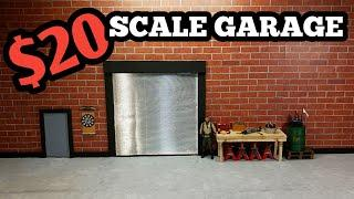Build a scale garage for $20