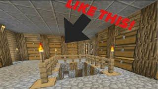 How to build a MINECRAFT BASEMENT | FearlessX