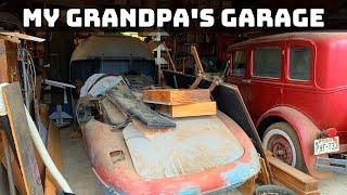 My Grandpa's Garage! There are a lot of hidden treasures!