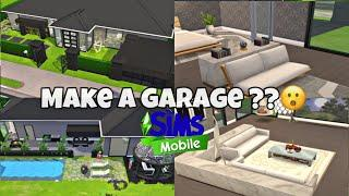 The Sims Mobile: Build A House With A Garage #11