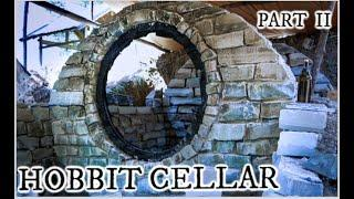 Building a Hobbit style root cellar with stone Part II