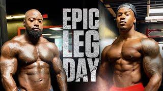 Epic Leg Day With Simeon Panda | Mike Rashid
