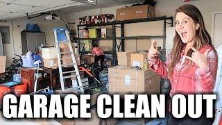 MASSIVE GARAGE CLEAN OUT | EXTREME GARAGE CLEANING DECLUTTER | GARAGE ORGANIZATION *BEFORE & AFTER*
