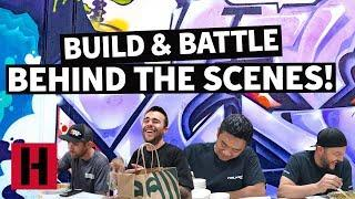 The Crew Makes Power Predictions Over Lunch, A Build & Battle BTS Cut!