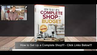 """How to Set Up a Complete Shop on a Budget Book Review!!! – Ralph Chapman """"Small Shop"""" Expert!!!"""