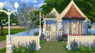 CUTE TINY HOUSE   The Sims 4   SPEED BUILD