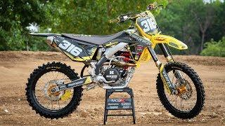2012 Suzuki RM-Z450 Bike Build | Racer X Films