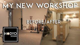 My New Workshop - 2 Years+ Timelapse!