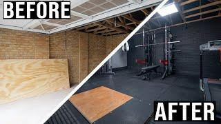 ULTIMATE Garage Gym Build 2020 **Extreme Transformation**