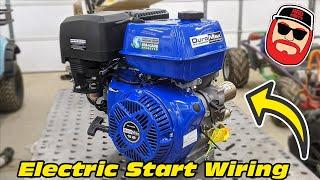 How to Wire Electric Start on a Go Kart & Other Small Engines