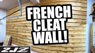 Building a French Cleat Wall | Dream Garage Build