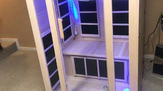 HOME SAUNA (how it works) how to assemble jnh lifestyles