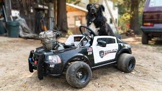 How to Build a Power Wheels Go Kart! Step by Step!