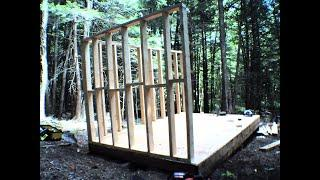 Off Grid Cabin Build Part 2