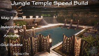 Jungle Temple Speed Build Map Room' Indoor Pool' Archers' God Bubble