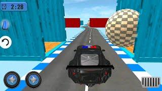 Police Car Driving Extreme Stunts - #6 Android GamePlay On PC