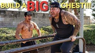 """BUILD A BIG CHEST with """"NO WEIGHTS"""""""