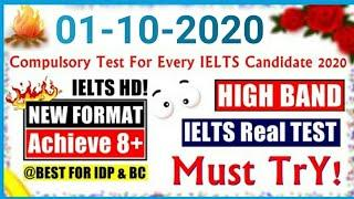 IELTS LISTENING PRACTICE TEST 2020 WITH ANSWERS / 01-10-2020