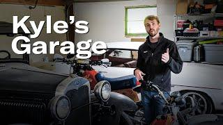 Ford Model A home garage project | Kyle's Garage - Ep. 1