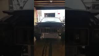 Johnny Macs Garage Power Tour 2020 build trailer unloaded for cage, ties, mini tub.