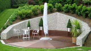 38 amazing landscape design ideas!  Gazebos, ponds, garden steps...!