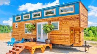 Beautiful 324 Sqft Journey Tiny House By Alabama Tiny Homes | Living Design For A Tiny House