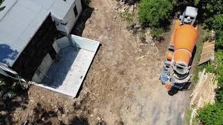 Building an addition part 3: Drainage, backfill and basement slab pour