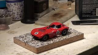 Scale Car Garage - 1/32 Scale Cheetah Build Pt. 5 - Running Chassis